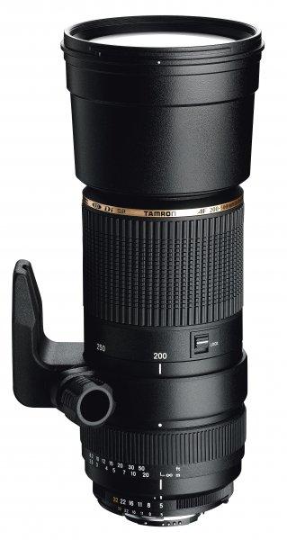image objectif Tamron 200-500 SP AF 200-500mm F/5-6.3 Di LD IF