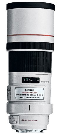 image objectif Canon 300 EF 300mm f/4L IS USM