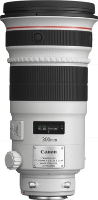 image objectif Canon 300 EF 300mm f/2.8L IS II USM