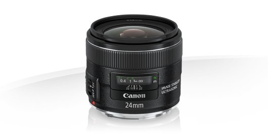 image objectif Canon 24 EF 24mm f/2.8 IS USM pour olympus