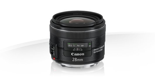 image objectif Canon 28 EF 28mm f/2.8 IS USM pour olympus