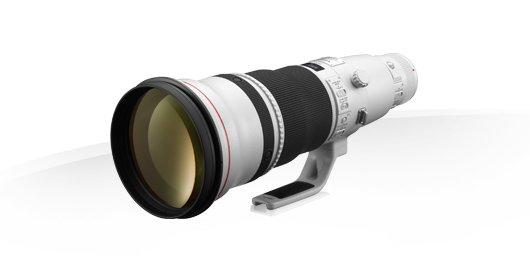 image objectif Canon 600 EF 600mm f/4L IS II USM