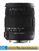 image objectif Sigma 18-50 18-50mm F2.8-4.5 DC OS HSM