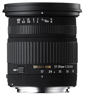 image objectif Sigma 17-70 17-70mm F2.8-4.5 DC Macro