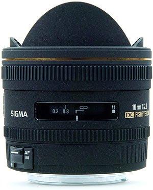 image objectif Sigma 10 10mm F2.8 Fish Eye DC EX HSM