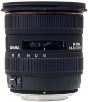 image objectif Sigma 10-20 10-20mm F4-5.6 DC EX