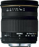 image objectif Sigma 28-70 28-70mm F2.8 DG EX