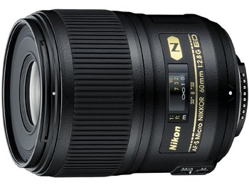 image objectif Nikon 60 AF-S Micro NIKKOR 60mm f/2.8G ED