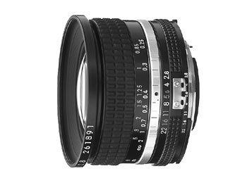 image objectif Nikon 20 20mm f/2.8 Nikkor
