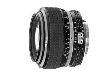 image objectif Nikon 50 50mm f/1.2 Nikkor