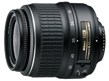 image objectif Nikon 18-55 AF-S DX Zoom-Nikkor 18-55mm f/3.5-5.6G ED II