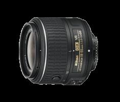 image objectif Nikon 18-55 AF-S DX NIKKOR 18-55mm f/3.5-5.6G VR II pour panasonic