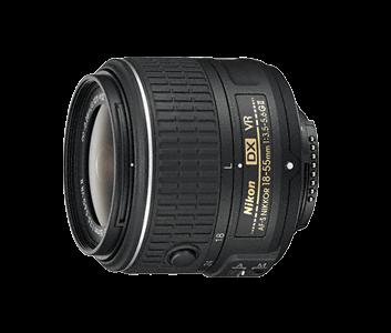 image objectif Nikon 18-55 AF-S DX NIKKOR 18-55mm f/3.5-5.6G VR II