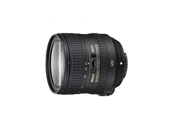 image objectif Nikon 24-85 AF-S NIKKOR 24-85 mm f/3.5-4.5G ED VR pour panasonic