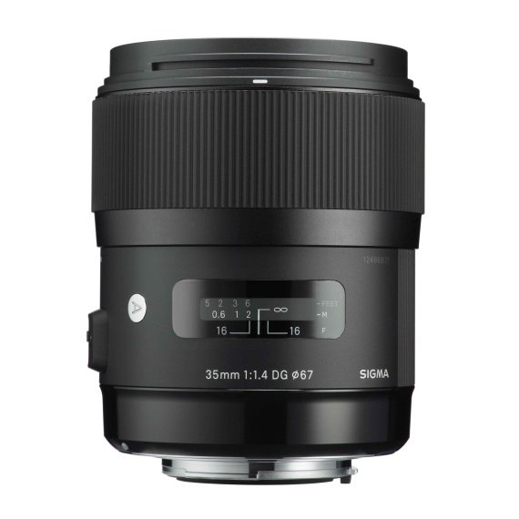 image objectif Sigma 35 ART   35mm F1.4 DG HSM
