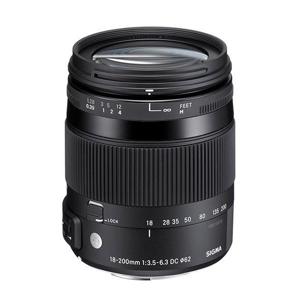 image objectif Sigma 18-200 CONTEMPORARY | 18-200mm F3.5-6.3 DC MACRO OS HSM pour Nikon