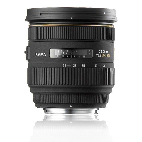 image objectif Sigma 24-70 24-70mm F2.8 IF EX DG HSM