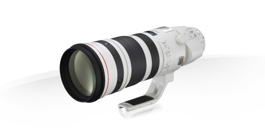 image objectif Canon 200-400 EF 200-400mm f/4L IS USM Extender 1.4x pour olympus