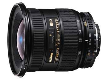 image objectif Nikon 18-35 AF 18-35 mm f/3.5-4.5D ED