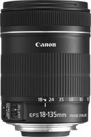 image objectif Canon 18-135 EF-S 18-135mm f/3.5-5.6 IS pour Canon